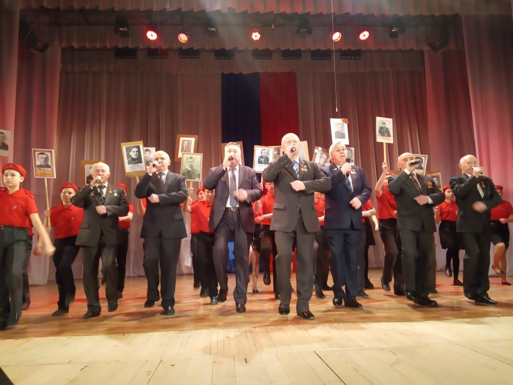 Кадеты «Союза десантников Удмуртии» на торжественном мероприятии, посвященном Дню Защитника Отечества