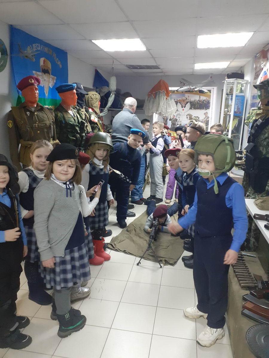 «Союз десантников Удмуртии» продолжил проводить занятия по плану «Месячника патриотического воспитания в Удмуртии»