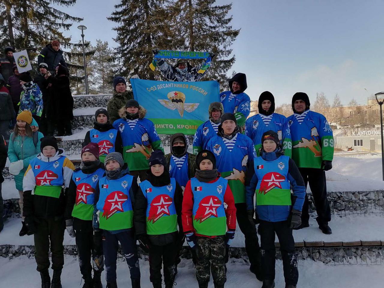 «Союз десантников Удмуртии» на зимней военно-спортивной «Зарнице»