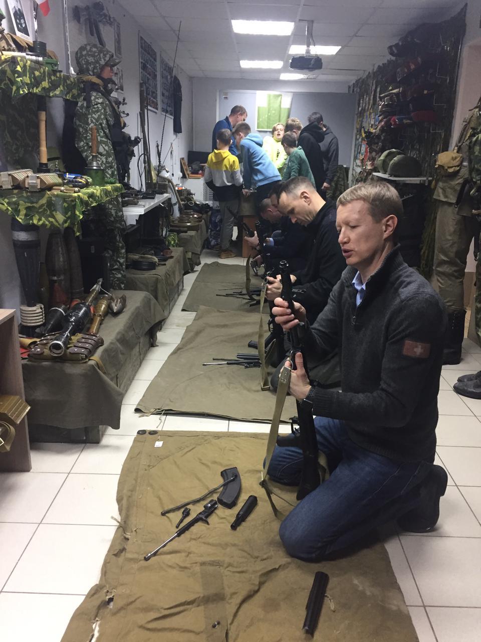 Накануне и в День защитника Отечества «Союз десантников Удмуртии» открыл нараспашку двери своего музея