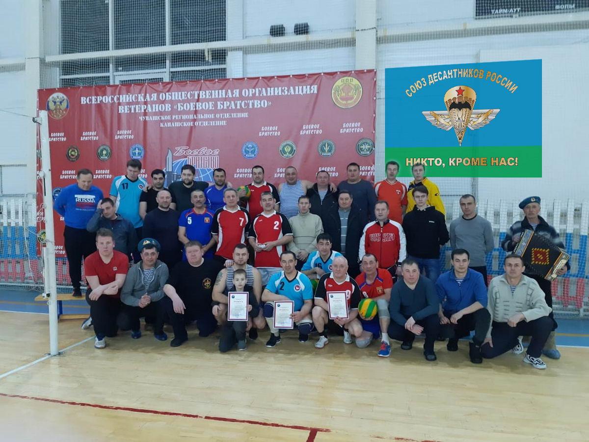 Традиционный волейбольный турнир памяти воина-интернационалиста десантника Александра Журавлева