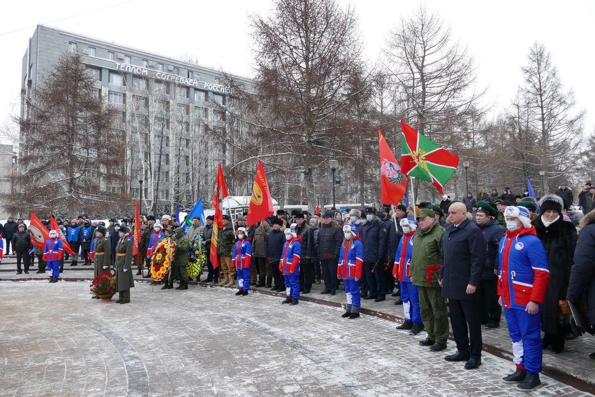Возложение, посвященное Дню выводы Советских войск из Республики Афганистан