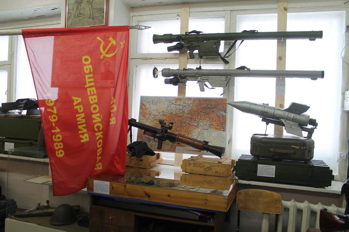 Открытие выставки афганской войны «Ты мне снишься ночами Афган» в Моргаушском районе Чувашской Республики