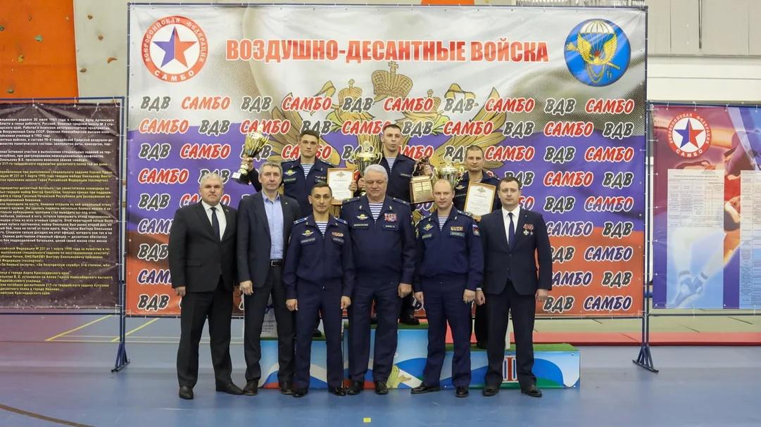 Соревнования по самбо на кубок командующего ВДВ