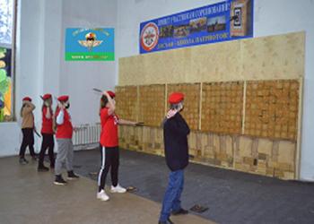 Соревнования по спортивному метанию ножей среди патриотических организаций и юнармейских отрядов