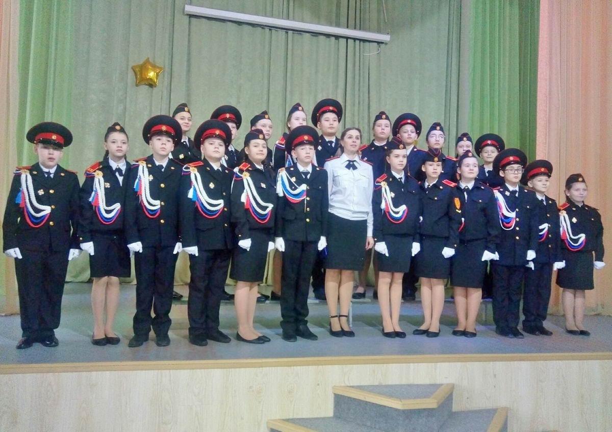 В Усинске прошли юбилейные посвящения в кадеты