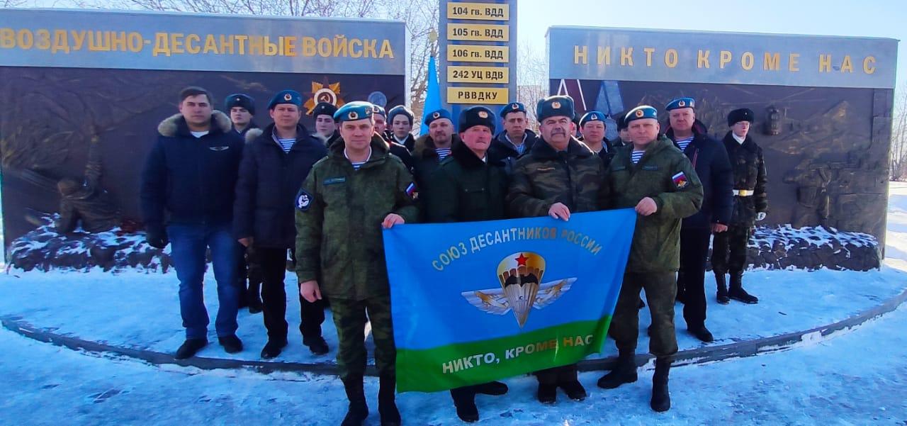 «Союз десантников Удмуртии» организовал митинги по всей республике, посвященные героизму гвардейцев шестой роты