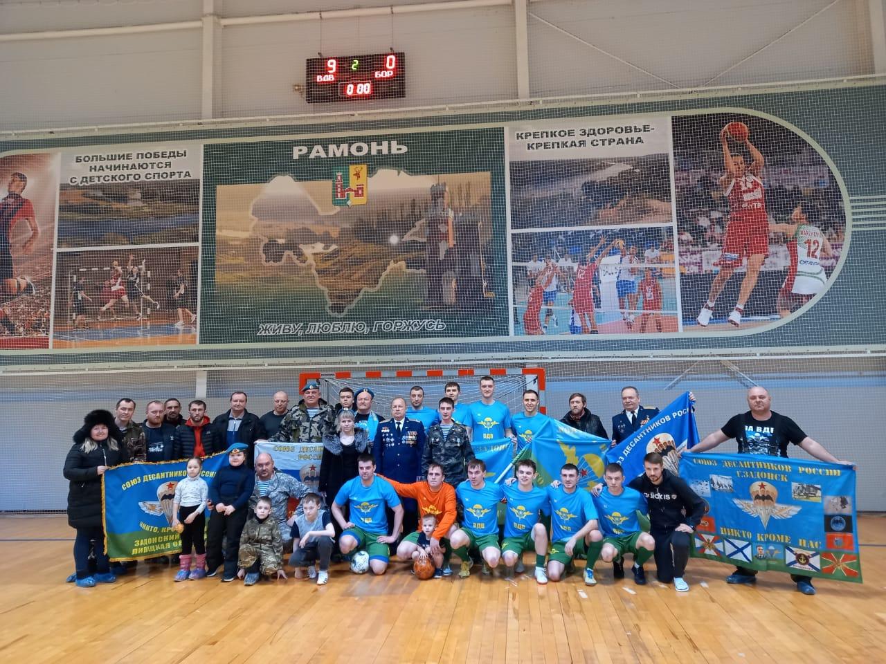 Футбольная команда ВДВ