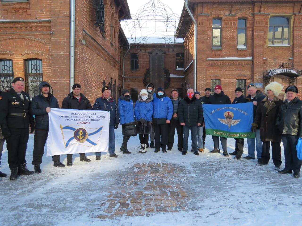 23 февраля в городе Барнауле
