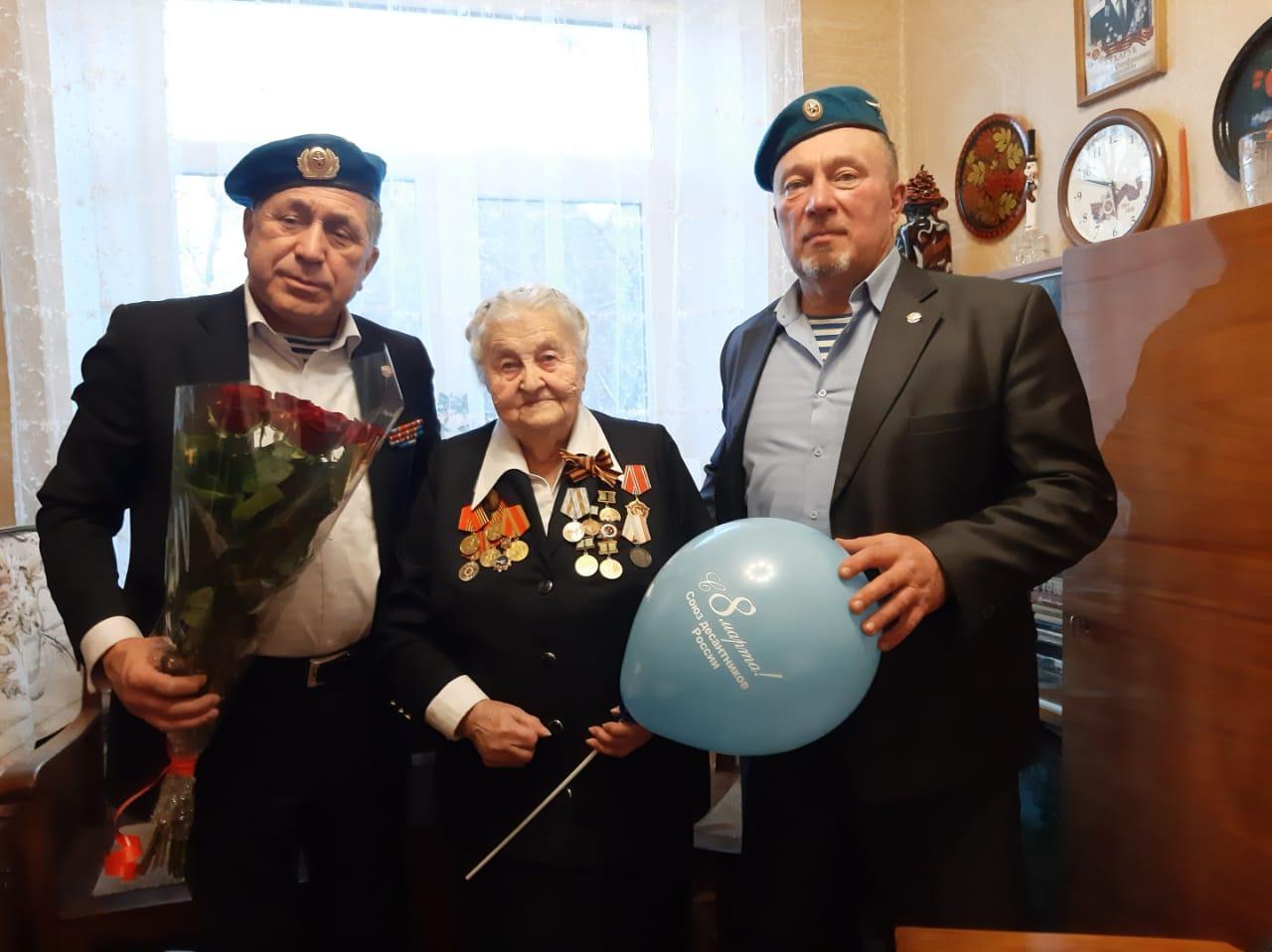 Поздравление с 8 марта блокадницы Ленинграда