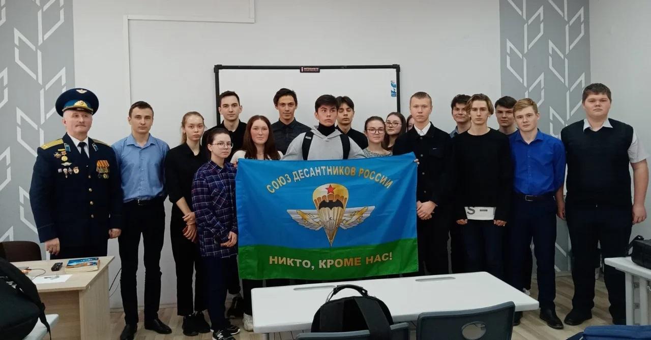 «Союз десантников Удмуртии» принял участие в интересной встрече в сельской школе