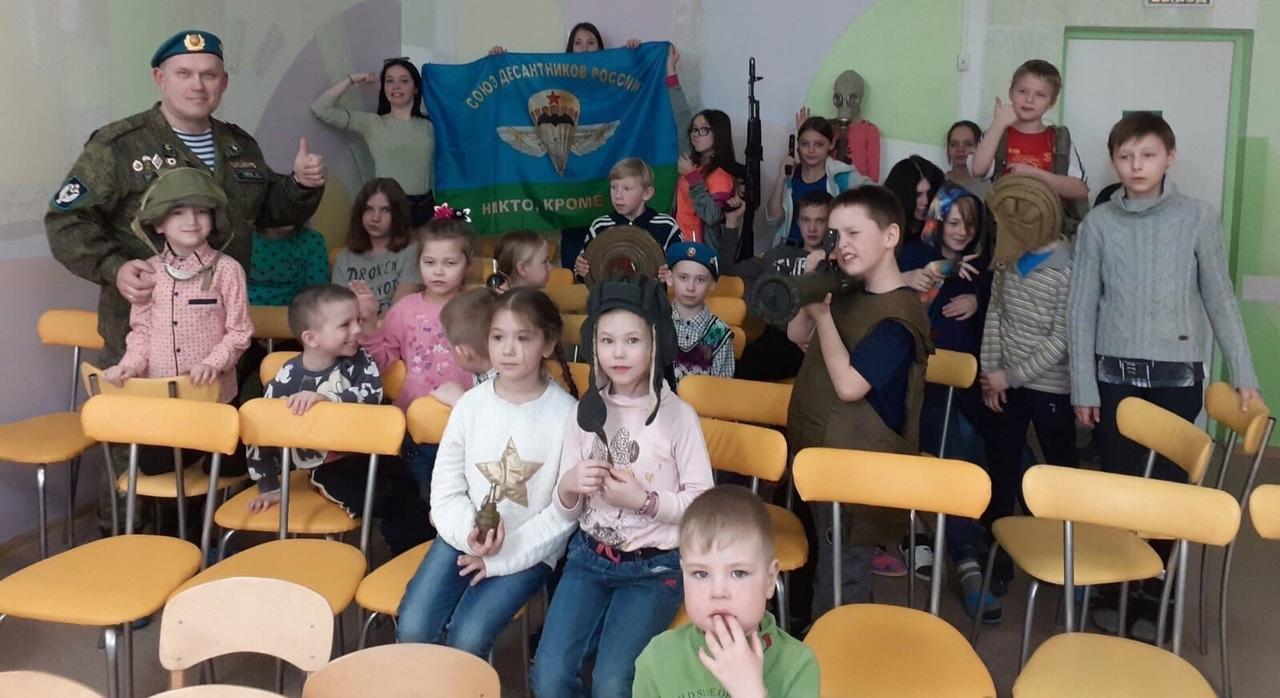 «Союз десантников Удмуртии» в гостях у воспитанников Республиканского социально-реабилитационного центра для несовершеннолетних