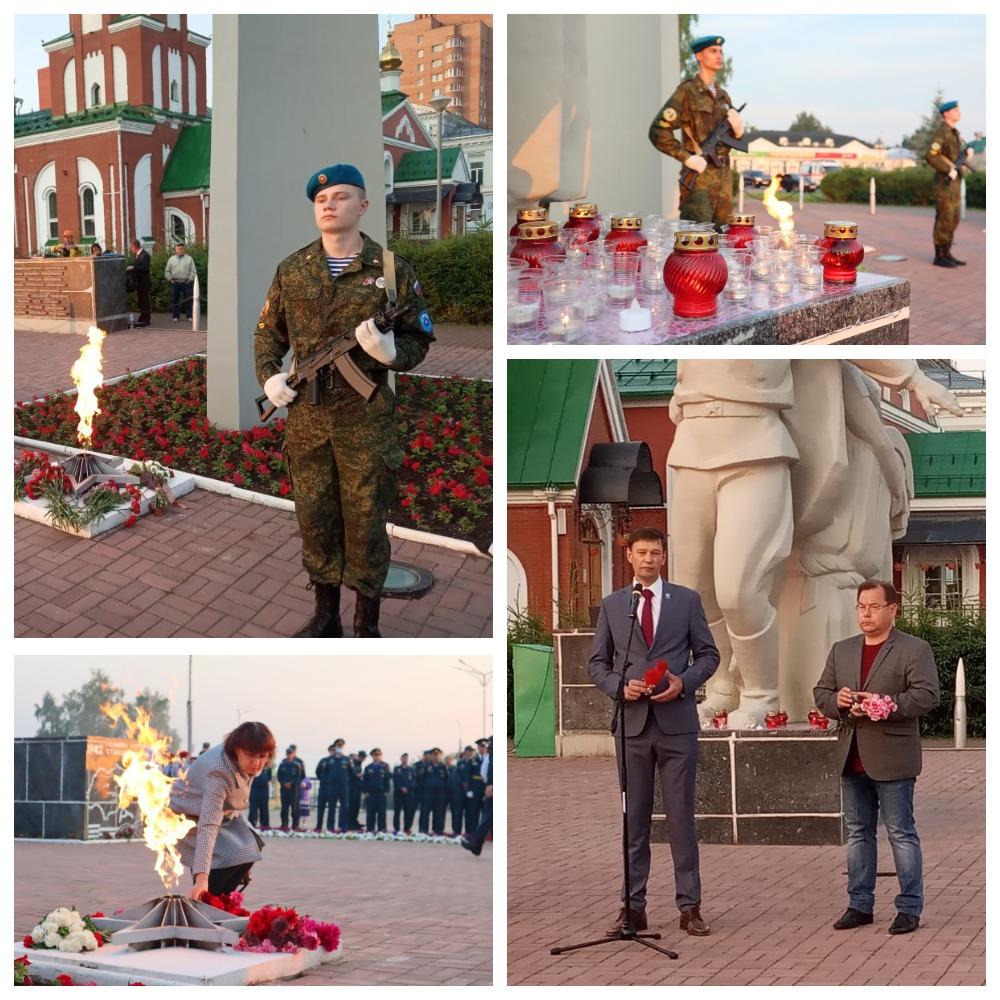 ЮВПК «Патриот России» «Союза десантников Удмуртии» в День памяти и скорби 22 июня 2021 года…