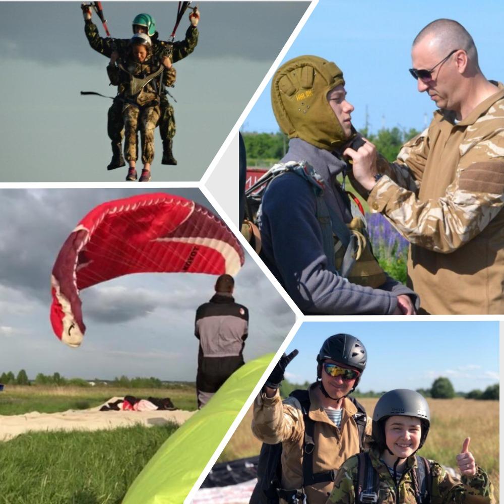 Инструктора-парашютисты и члены «Союза десантников Удмуртии» готовы к массовому десантированию в летне-осеннем периоде