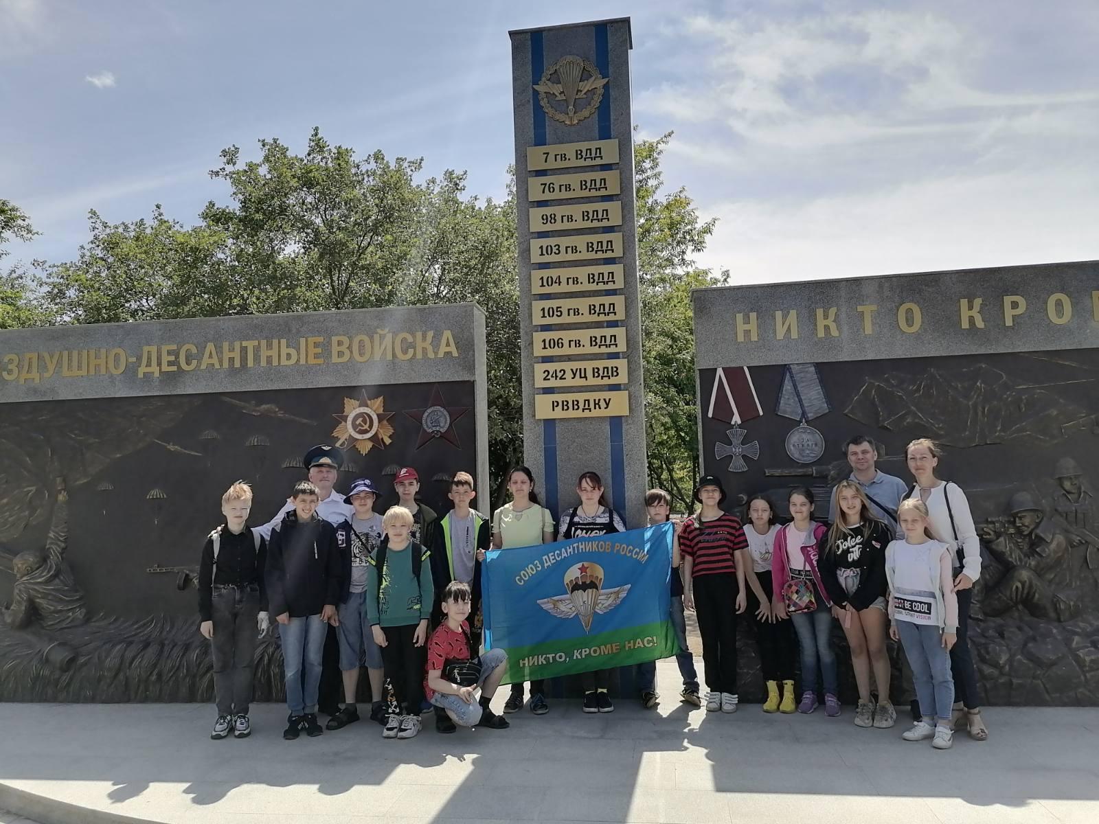 «Союз десантников Удмуртии» на «Прогулке по местам боевой славы Ижевска»