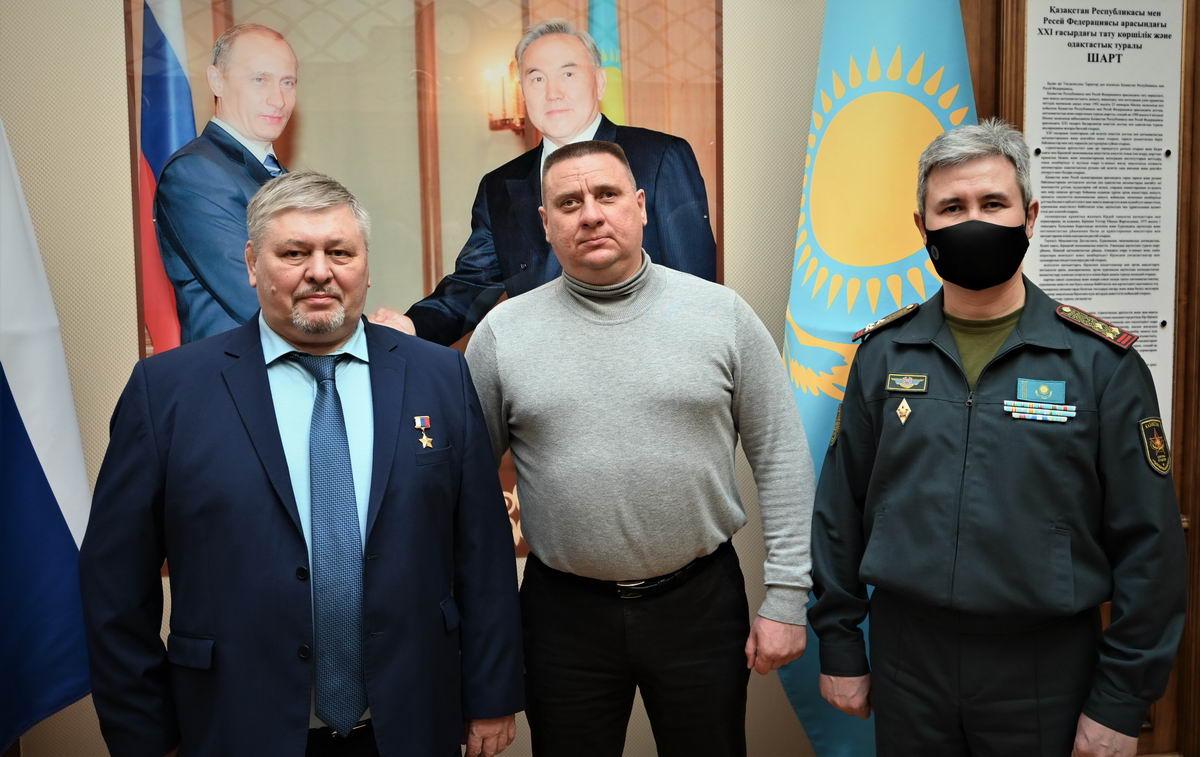 ПЕРЕЗАХОРОНЕНИЕ ПОГИБШЕГО В ВОВ ШАМИШЕВА РАПЫХА НА РОДИНЕ В РЕСПУБЛИКЕ КАЗАХСТАН