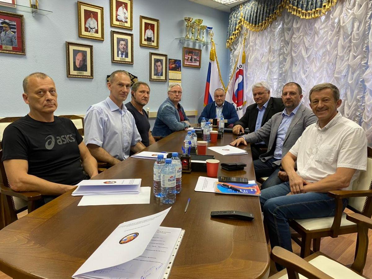 Заседание президиума федерации армейского рукопашного боя России