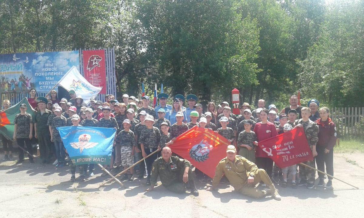 """Открытие военно-спортивной смены """"Служу Отечеству"""""""