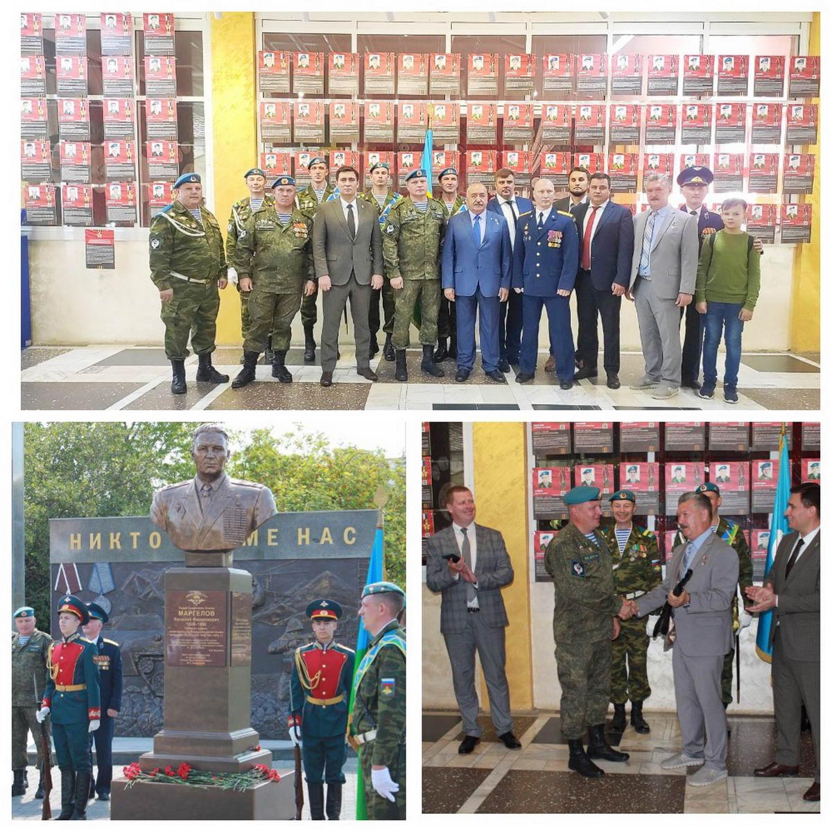 «Союз десантников Удмуртии» подготовил и открыл развёрнутую экспозицию героям-десантникам 6-й роты