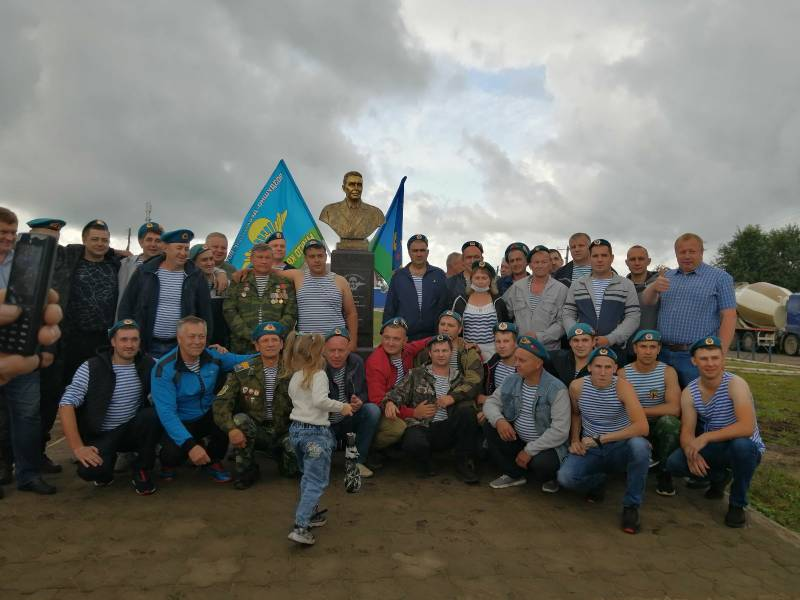 День Воздушно-десантных войск в г. Нижнеудинске