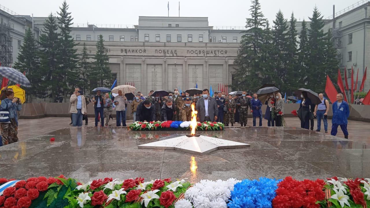 Празднование 91-ой годовщины дня ВДВ 02 августа 2021 года