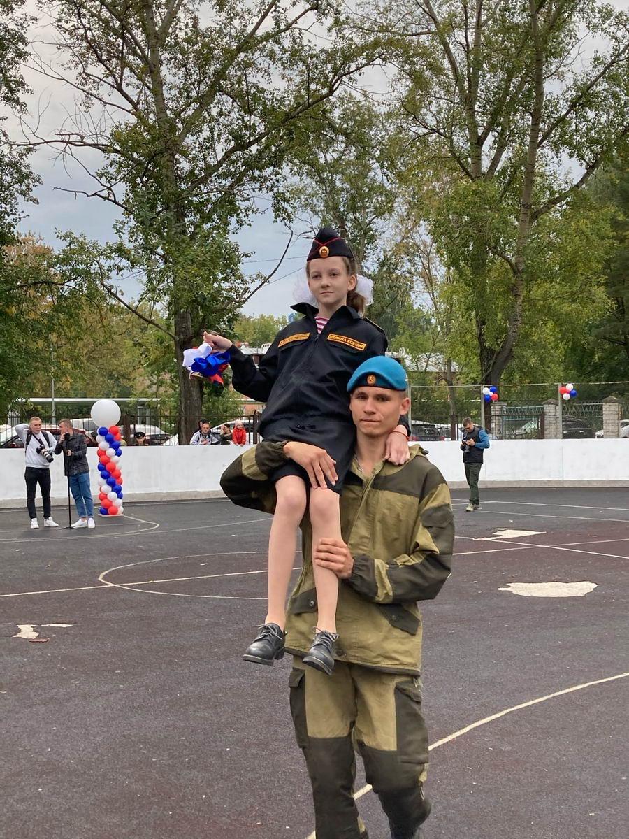 День знаний в Нижегородской кадетской школе