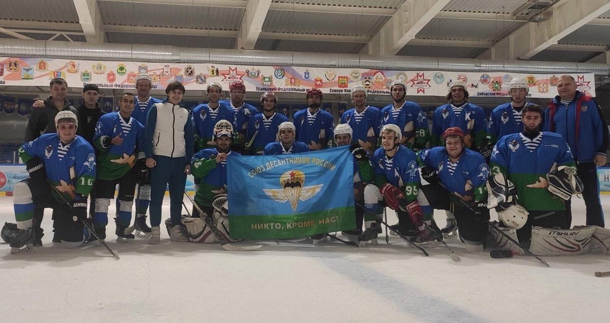 Команда по хоккею «Союза десантников Удмуртии» стартовала в регулярном турнире Ижевской хоккейной лиги