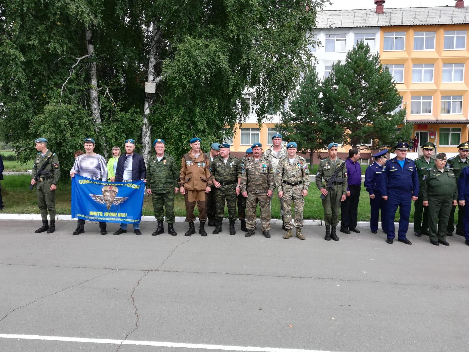 01 сентября 2021 года начало учебного года в Усольском кадетском корпусе