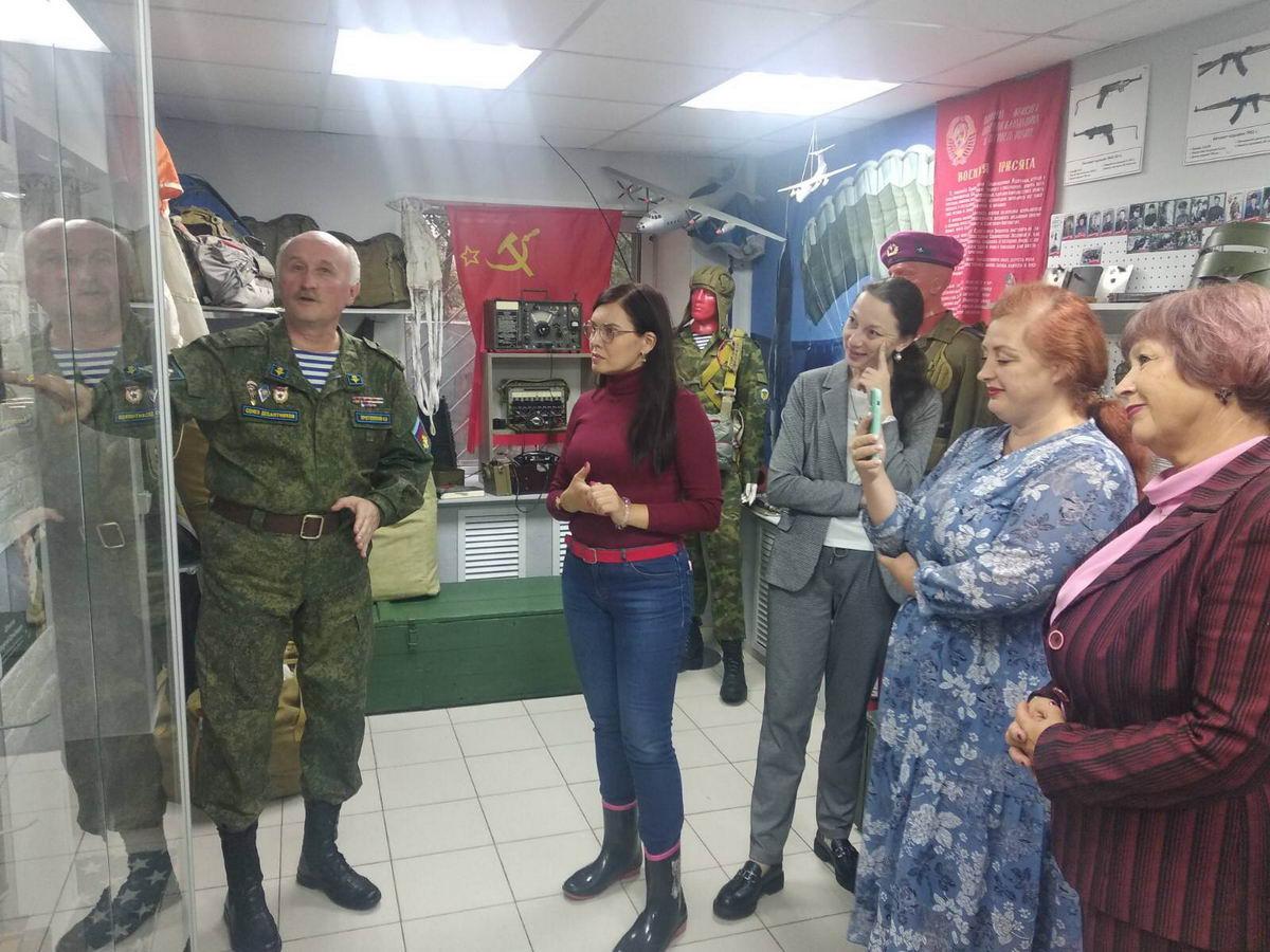 Руководители «Союза десантников Удмуртии» встретились с единомышленниками. Поговорили о перспективных путях развития взаимоотношений