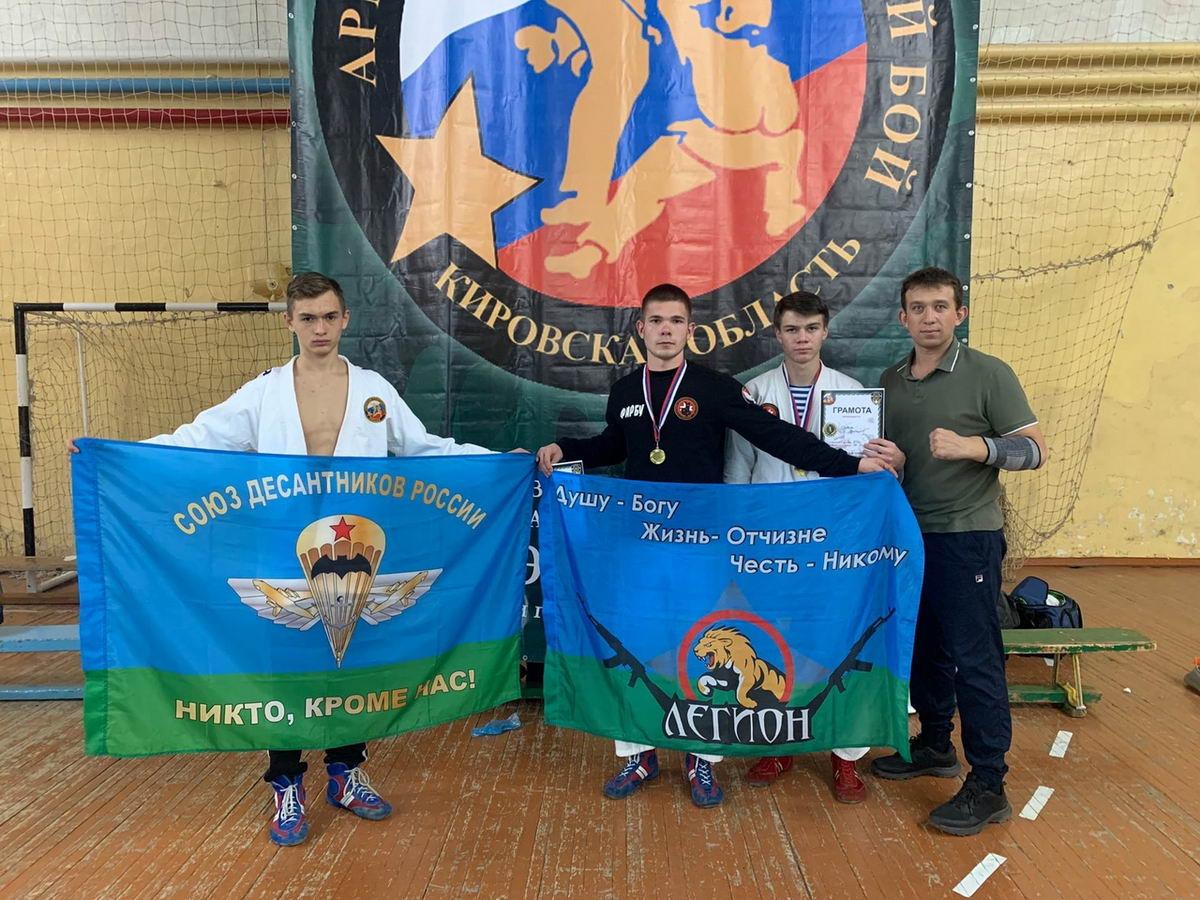 Юные десантники военно-патриотических клубов «Союза десантников Удмуртии» показали великолепную подготовку на прошедших соревнованиях