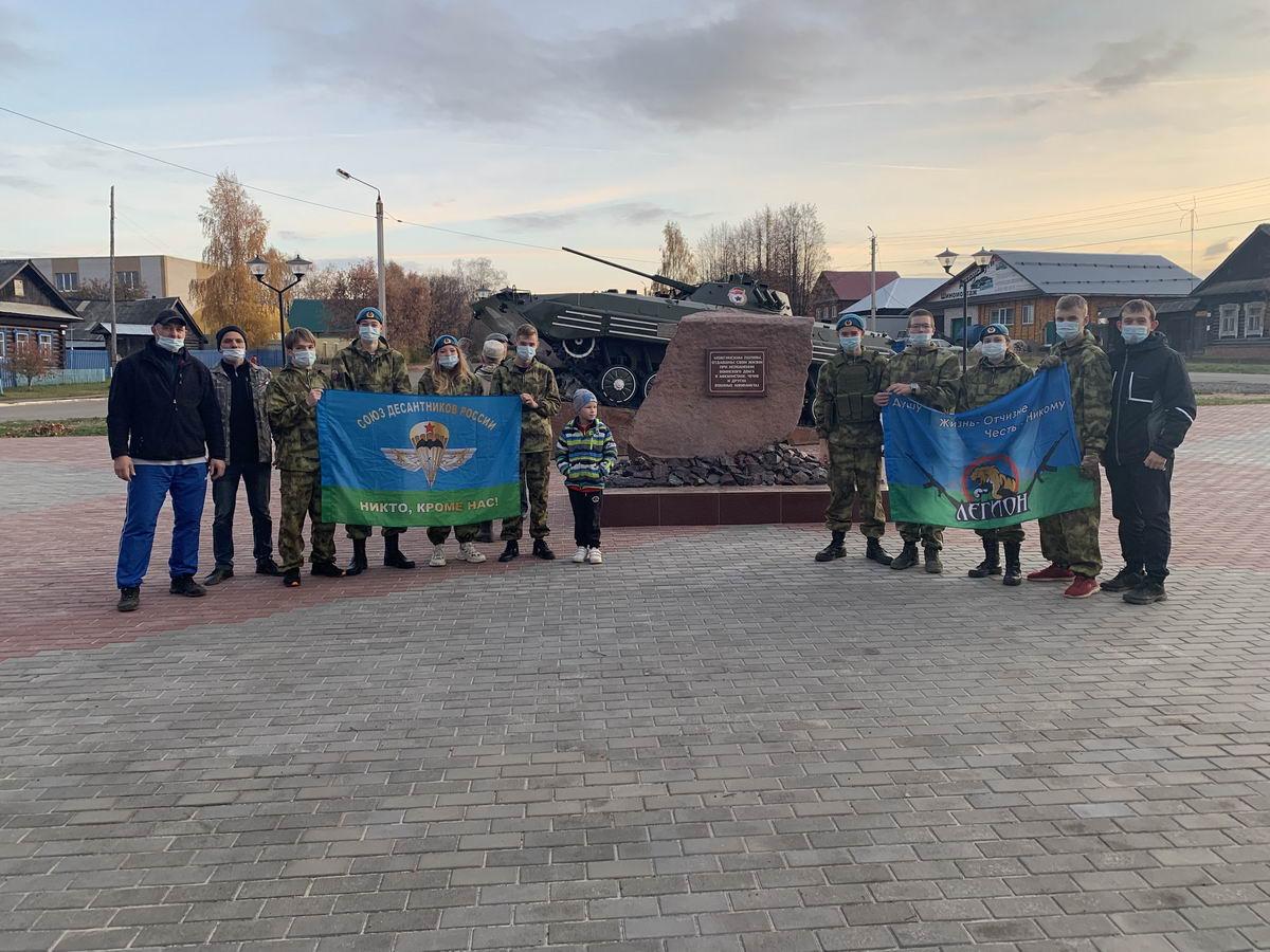 Можгинское отделение «Союза десантников Удмуртии» и МОО ВПК «Легион» инициировали собрание по второму этапу проекта «Сквера памяти»