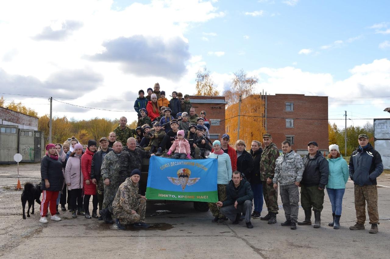 Члены военно-патриотического клуба «Десантник» «Союза десантников Удмуртии» организовали парко-хозяйственный день