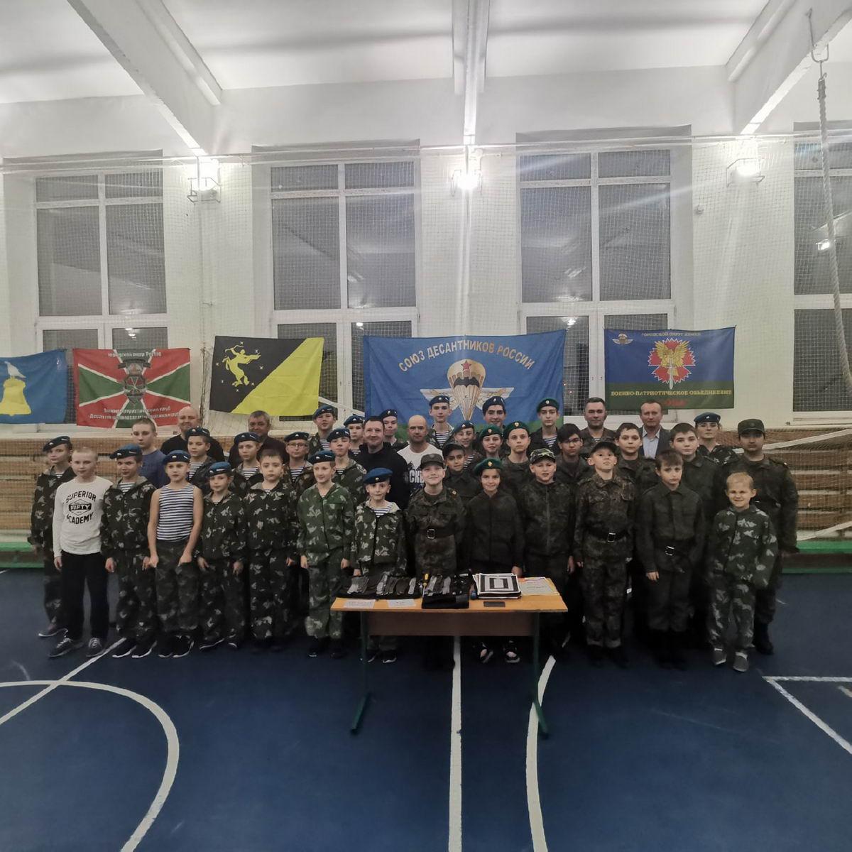 «Союз Десантников России» приняли участие в «Мастер-классе по спортивному метанию ножей»